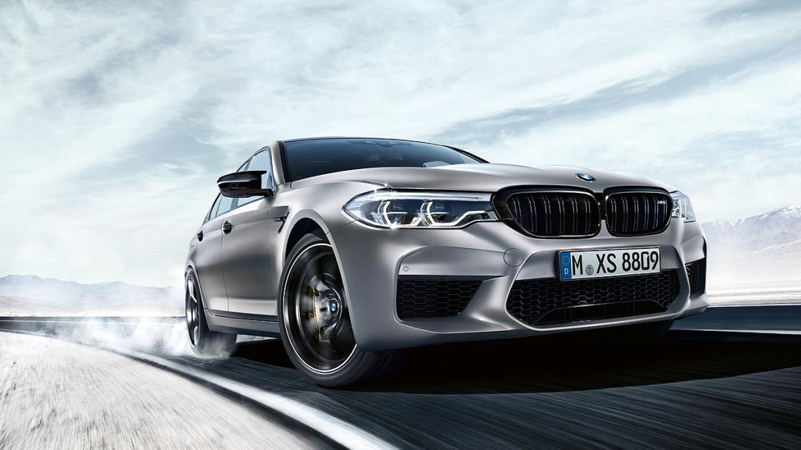 THE ALL-NEW BMW M5 COMPETITION.