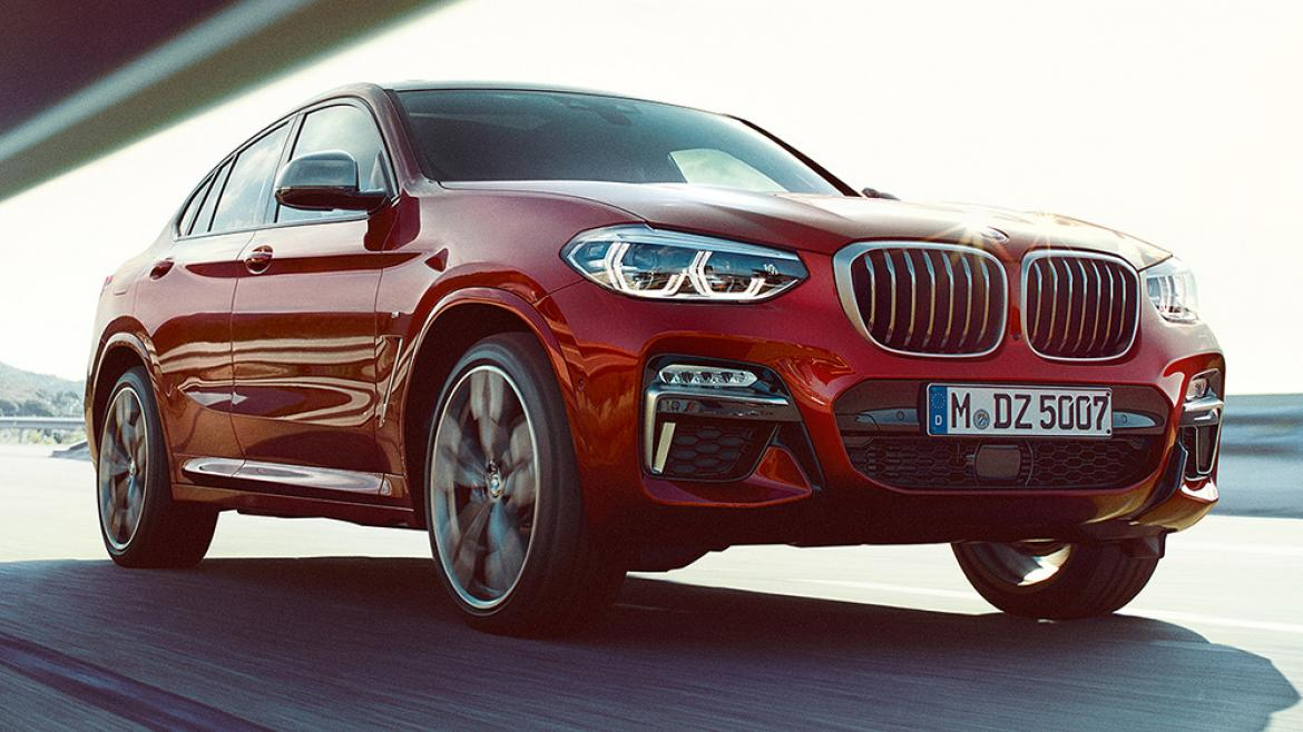 THE ALL-NEW BMW X4.